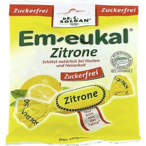 Em-Eukal Zitrone Hustenbonbons zuckerfrei