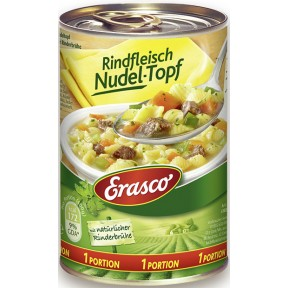 Erasco 1 Portion Rindfleisch Nudel-Topf