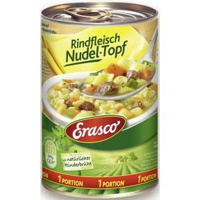 Erasco 1 Portion Rindfleisch Nudel-Topf 400 g