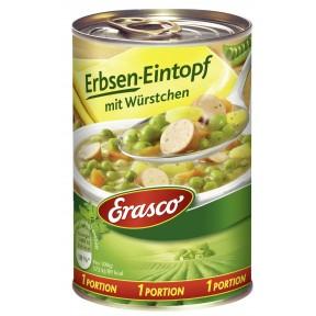 Erasco Erbsen-Eintopf mit Würstchen 1 Portion 400 g