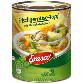 Erasco Frischgemüse-Topf mit Fleischklößchen 800 g
