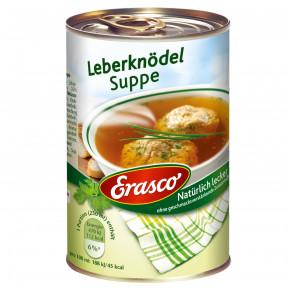 Erasco Leberknödel Suppe 395ML