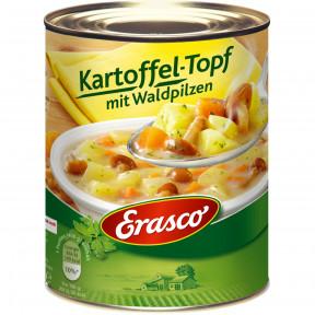 Erasco Kartoffel-Topf mit Waldpilzen 800G