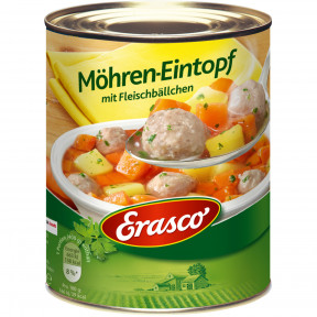 Erasco Möhren-Eintopf mit Fleischbällchen 800 g