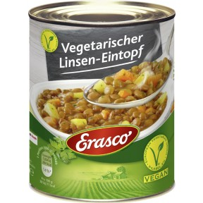 Erasco Linsen-Eintopf vegetarisch