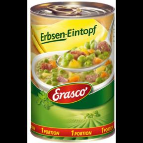 Erasco 1 Portion Erbsen-Eintopf 400G