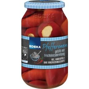 EDEKA Pfefferonen gefüllt mit Frischkäsezubereitung 270 g