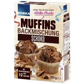 EDEKA Muffins Backmischung Schoko