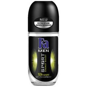 Fa Anti-Transpirant Roll-On Men Sport Energy Boost