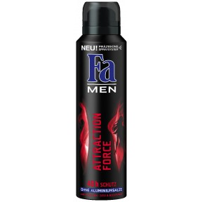 Fa Deospray Men Attraction Force