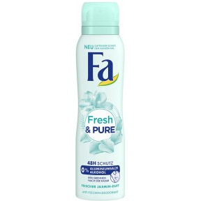 Fa Deo-Spray Fresh & Pure 150 ml