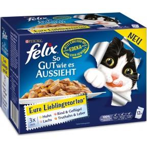 Felix Multipack Eure Lieblingssorten Nassfutter