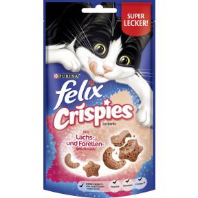 Felix Crispies Leckerlis mit Lachs- und Forellengeschmack 45G