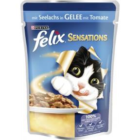 Felix Beutel mit Seelachs in Gelee mit Tomate Nassfutter