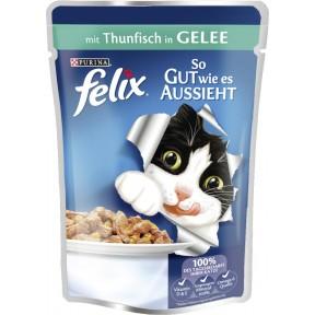 Felix mit Thunfisch in Gelee Nassfutter