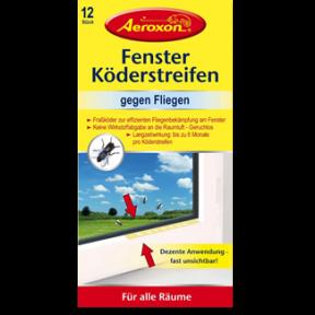 Aeroxon Fenster-Köderstreifen 12ST