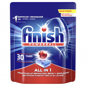 Finish Powerball All In 1 Tabs 30ST