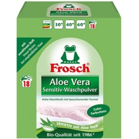 Frosch Aloe Vera Sensitiv-Waschpulver 1,35 kg
