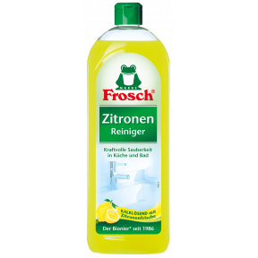 Frosch Zitronenreiniger kalklösend