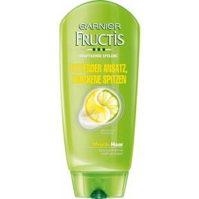 Garnier Fructis Spülung Fettender Ansatz, Trockene Spitzen