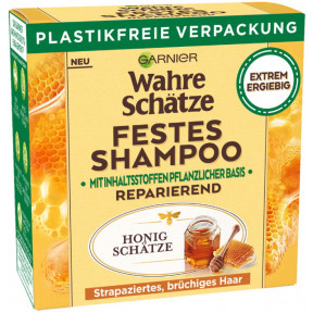 Garnier Wahre Schätze Festes Shampoo Honig Schätze 60G
