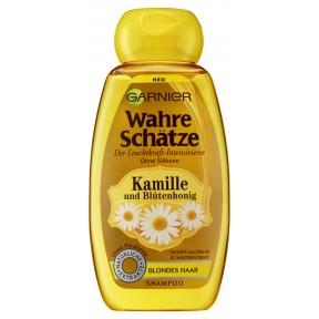 Garnier Wahre Schätze Der Leuchtkraft-Intensivierer Kamille & Blütenhonig Shampoo