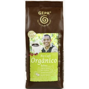 GEPA Faitrade Bio Cafe Organico ganze Bohnen