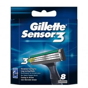Gillette Sensor3 Ersatzklingen