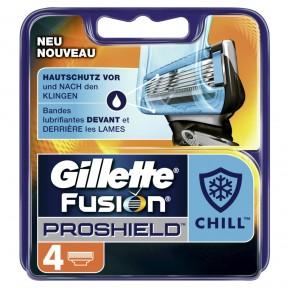 Gillette Fusion Proshield Chill Ersatzklingen