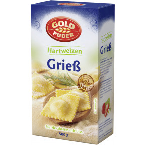 Goldpuder Hartweizen-Grieß 500 g
