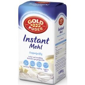 Goldpuder Instant Mehl Doppelgriffig
