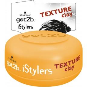 Schwarzkopf got2b istylers Texture Clay Halt 4 75 ml