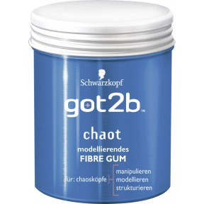 Schwarzkopf got2b Chaot modellierendes Fibre Gum 100ml