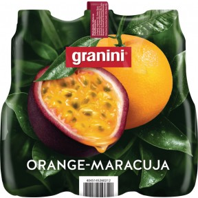 Granini Orange-Maracuja Nektar 6x 1 ltr PET