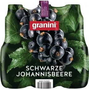 Granini Schwarze Johannisbeere Nektar 6x 1 ltr PET