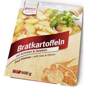 Grocholl Bratkartoffeln mit Schinken & Zwiebeln 400 g