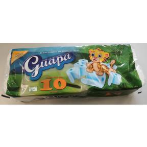 Guapa Toilettenpapier 2lagig 10x 120 Blatt