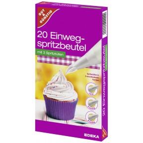 EDEKA Einweg-Spritzbeutel 20 Stück