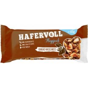 Hafervoll Flapjack Kakao Haselnuss Müsliriegel