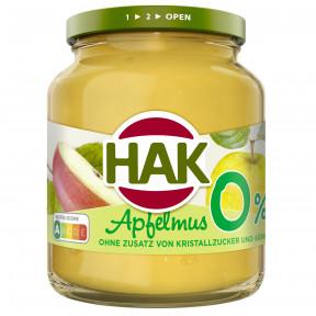 HAK Apfelmus 0% 350G
