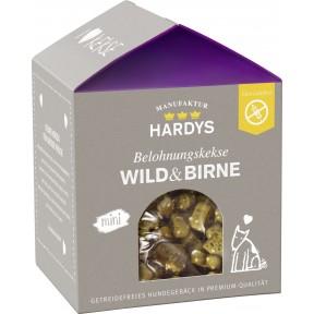 Hardys Belohnungskekse Wild & Birne mini 125 g