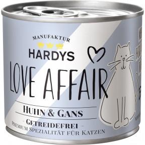Hardys Love Affair Huhn & Gans Katzenfutter nass 200G