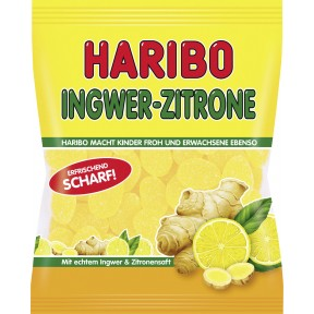Haribo Ingwer + Zitrone 175 g