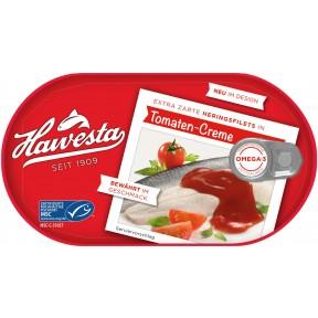 Hawesta Heringsfilet Tomaten-Creme 200 g