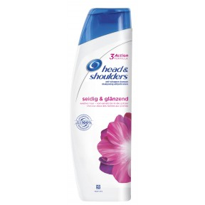 head & shoulders Anti-Schuppen Shampoo Seidig & Glänzend 0,3 ltr