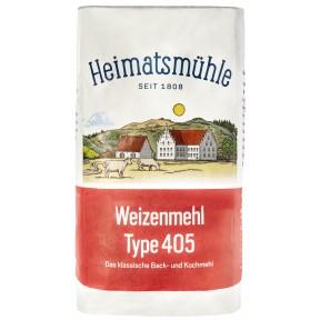 Heimatsmühle Weizenmehl Type 405 1 kg