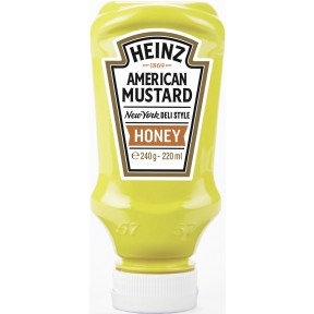 Heinz American Mustard New York Deli Style Honey