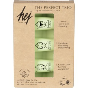Hej Organic The Perfect Trio Organic Multi Mask 3x 10 ml