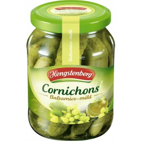 Hengstenberg Cornichons Balsamico mild 330 g