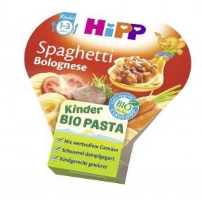 Hipp Bio Kinder Pasta Spaghetti Bolognese ab 1 Jahr